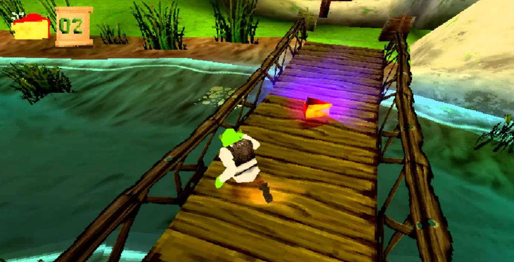 Shrek Treasure Hunt ps1