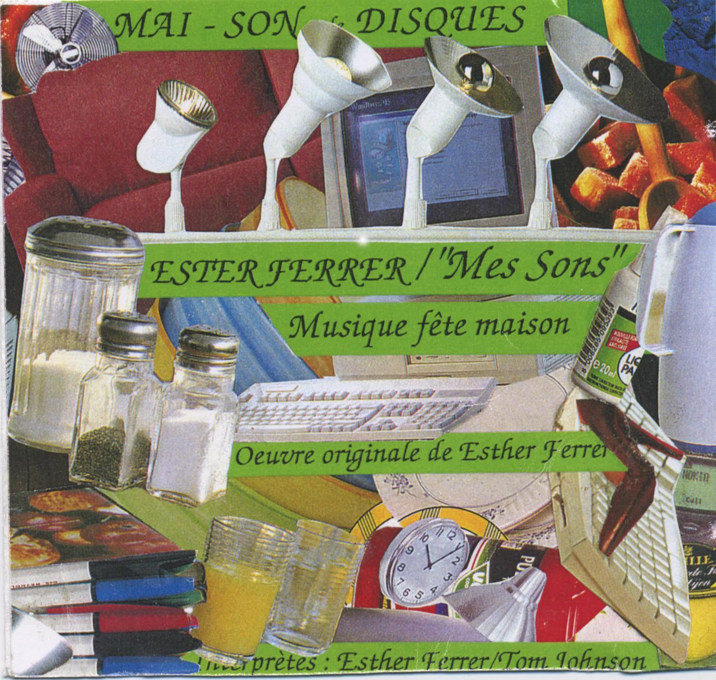 Esther Ferrer, 'Fête Maison'. Cover art. 1998