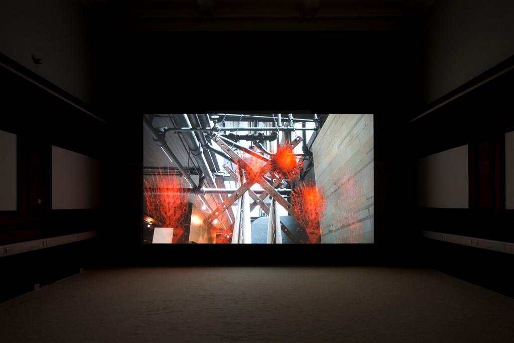 Jordan Wolfson at McLellan Galleries, Glasgow International 2014