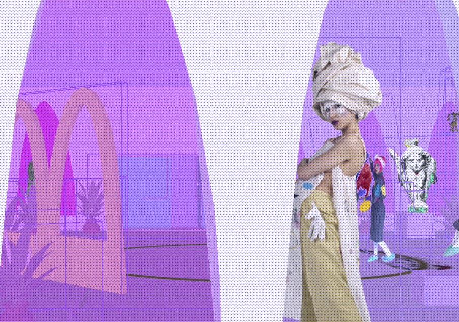 Peel Eezy, 2015, The Peel Eezy Public Art Museum, still image from CAD animation. Courtesy the artists