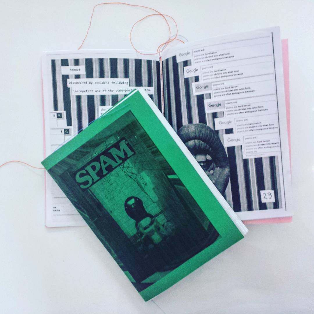 SPAM Zine, Issue #1