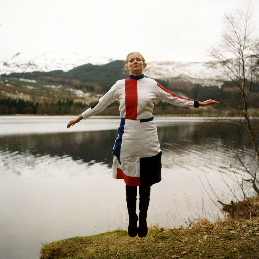 Susanne Nørregård Nielsen, Self Portrait in Suprematist Dress (2004)