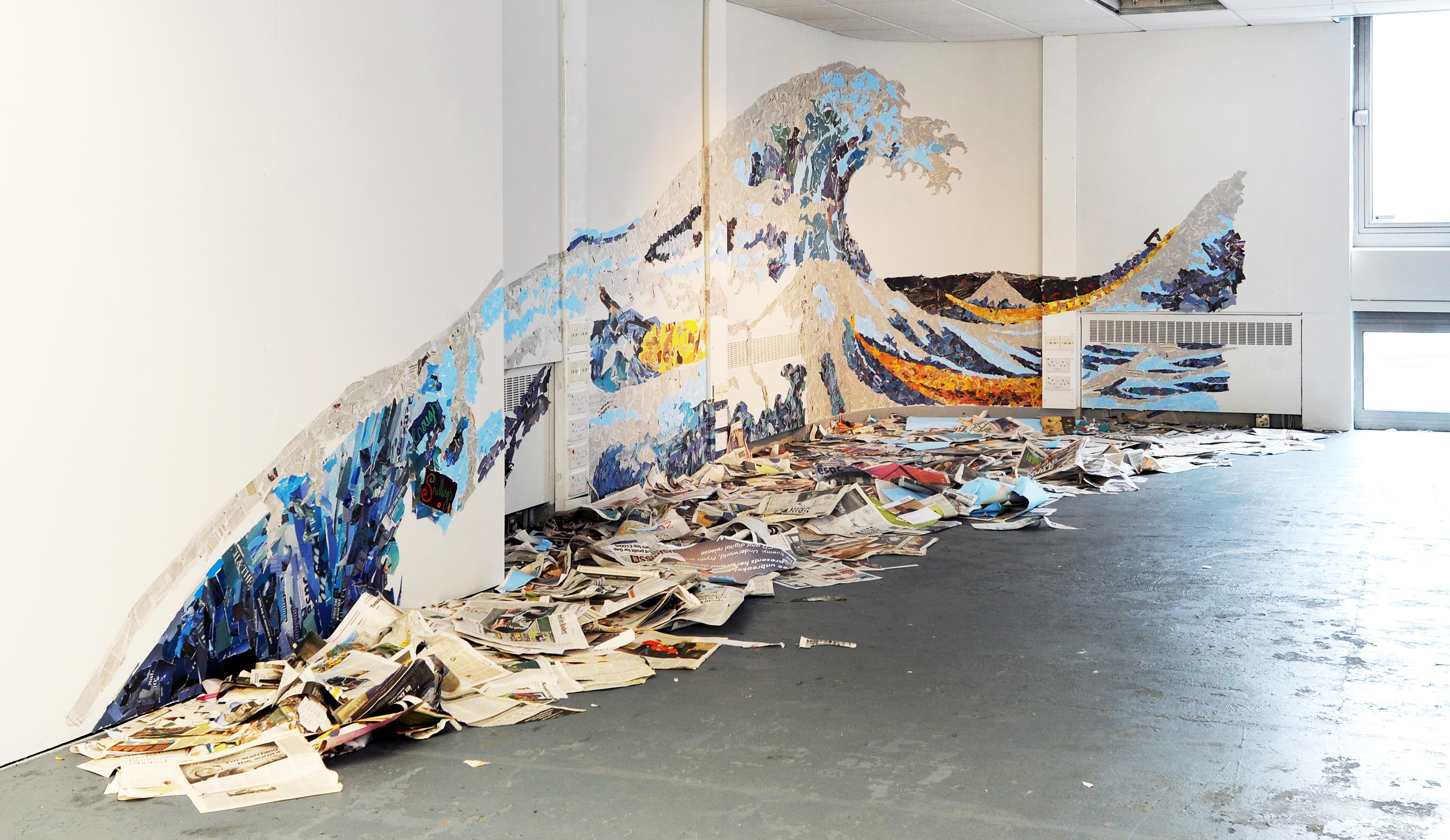 Janie Nicoll, 'Tsunami'. Image: Alan Dimmick