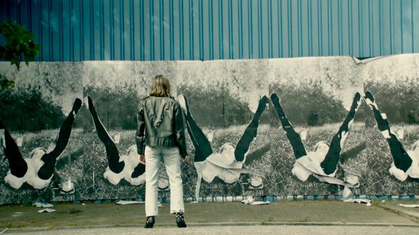 A still from Georgina Starr's new film, Quarantaine