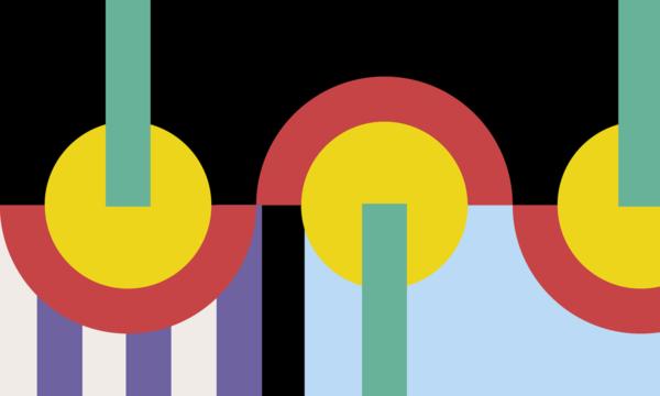 Glasgow International branded graphic